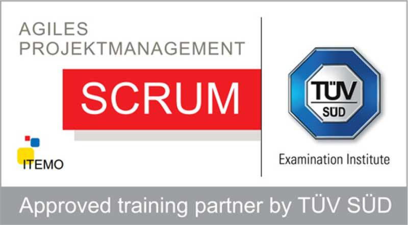 TÜV SÜD zertifizierte SCRUM Schulungen nach ITEMO